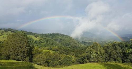 Rainbow at Witta