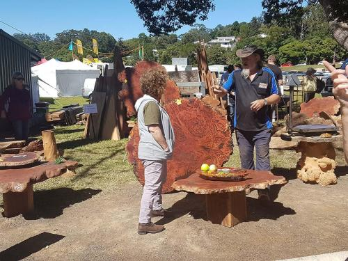Wood Expo at Maleny Showgrounds