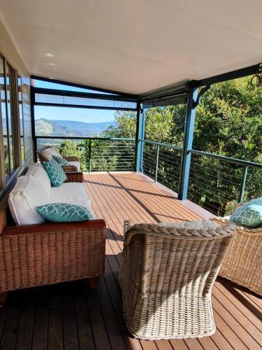 First floor deck